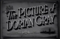 The Picture of Dorian Gray 1945 DVD - George Sanders